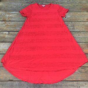 LulaRoe XS Red Dress